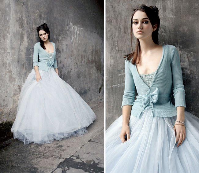 A Joan Shum dress modelled by Keira Knightly