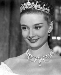 Audrey Hepburn in the role of Princess Anne in Roman Holiday